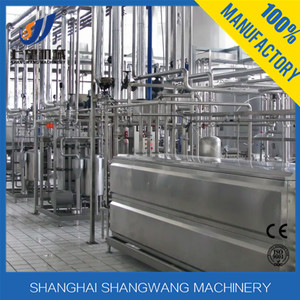 Complete UHT milk production line/dairy processing plant