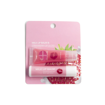 ODM/OEM custom private label mini pink lip balm