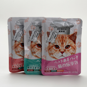 Cat Food Bag Pet Food Packaging Vacuum Pouches High Barrier Aluminum Foil Cooking Bags
