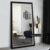 Full length wall mounting living room dressing mirror/ floor standing mirror