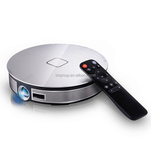 Popular 3D dlp 4k pico mini smart projector 12000 mah battery