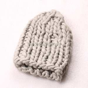 Winter warm handmade wholesale wool knitted winter hats