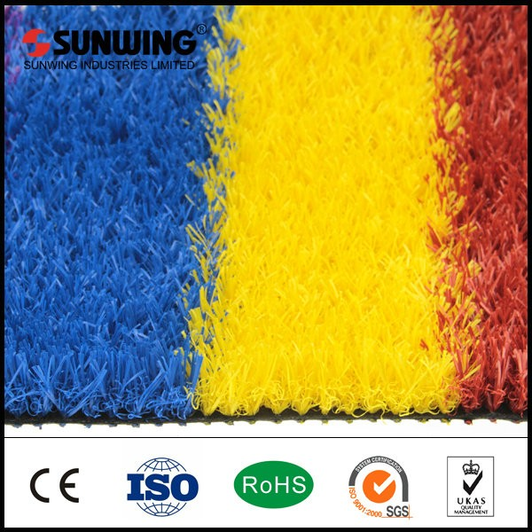 Top quality evergreen leisure synthetic turf for flooring decoration