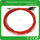 Fiber optic patch cord with flexible metal tube ratproof solution Good sales