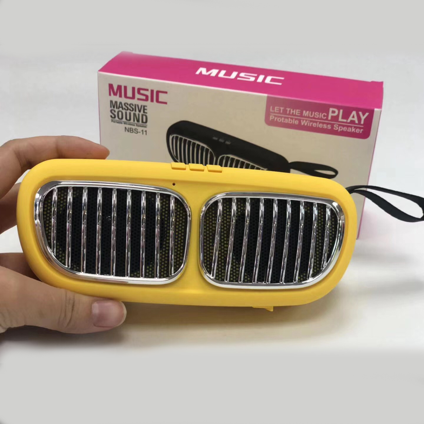 NBS 11 12 13 14 portable speaker good sound novelty mini cheap bluetooth speaker manufacture with TF card