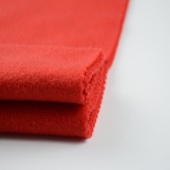 Wholesale Garment Knitted Single Side Brushed Poly Fabric