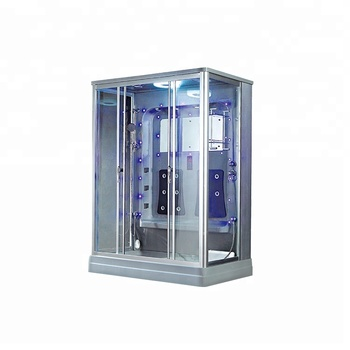 Famous Brand Rectangular 2 Person Freestanding Steam Adult Shower Room Made In China