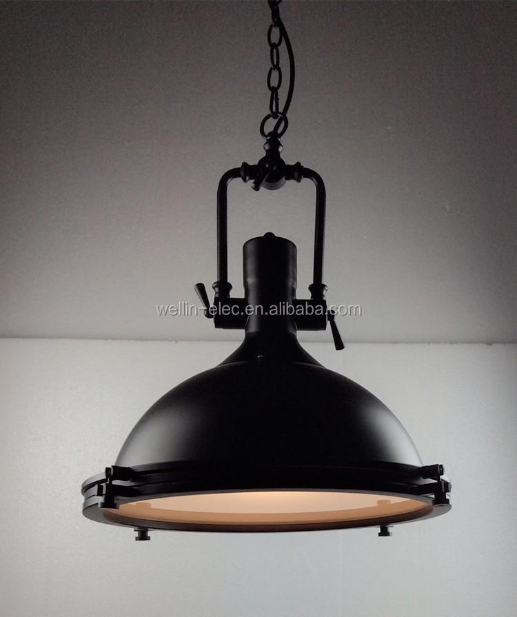 Edison fuente de luz bombilla y luz colgante industrial - Lampara tipo industrial ...