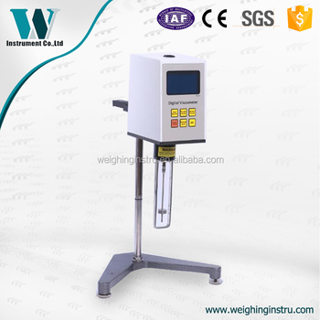 Digital electronic good quality paint viscosity meter for Paint viscosity tester