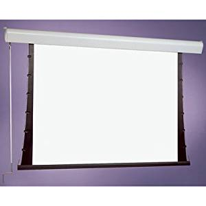 """Silhouette Series C White Electric Projection Screen Size: 50"""" x 50"""""""