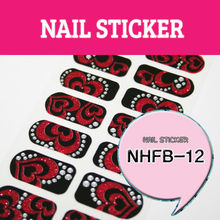 Volledige Tip Nagel <span class=keywords><strong>Stickers</strong></span>_NHFB12/nail sticker/frans nail sticker/volledige cover nail sticker