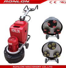 CE approved wet and dry concrete floor grinder polisher