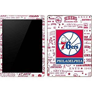 NBA Philadelphia 76ers iPad Pro Skin - Philadelphia 76ers Historic Blast Vinyl Decal Skin For Your iPad Pro