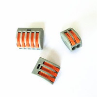 222 series 222-415 terminal block 5pin Push in Wire Lighting Connector 222-412 222-413 222-415 250V