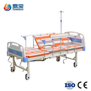 2018 Hot sale hill rom hospital bed can fold hospital bedside table price