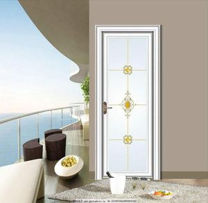 Popular Access Kitchen Swinging Sound Proof Modern Interior PVC Plastic Upvc Sliding Door