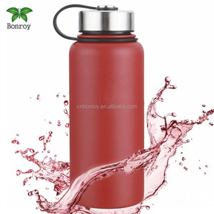 32 Oz Vacuum Insulated Stainless Steel Bottle Mug Thermo Sports Water