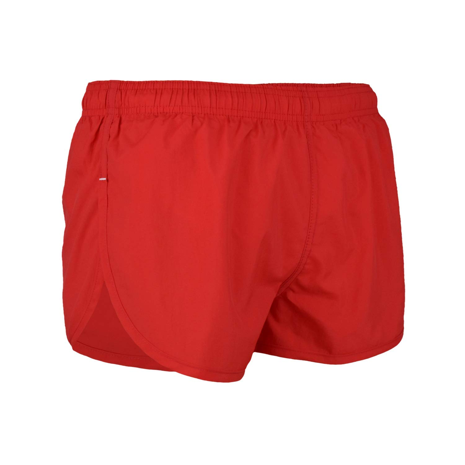 8adbadc88a95 Get Quotations · VBRANDED Men s Basic American Flag Running Shorts and Swimwear  Trunks Red S