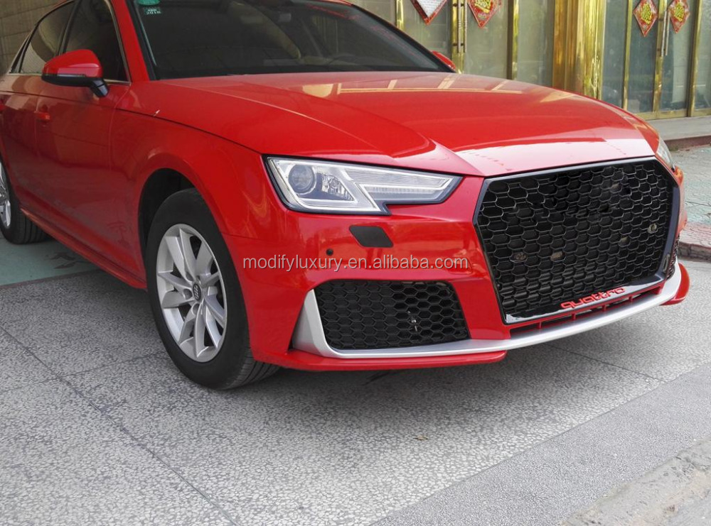 Wholesale RS4 Style BodyKits for Audi A4 B9 2017