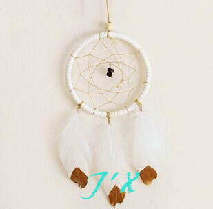 Dia11cm Top Quality Indian Dream Catcher Decor Home decoration One Circle Dream Catchers Birthday Gifts
