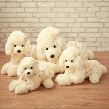 Hot Sale Plush Dog Pug Soft Toystuffed Toy White Dogdog Toys Plush