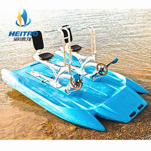Wholesale Single One Person Aqua Sea Sports Propeller Pedal Bike Water Bike For Sale
