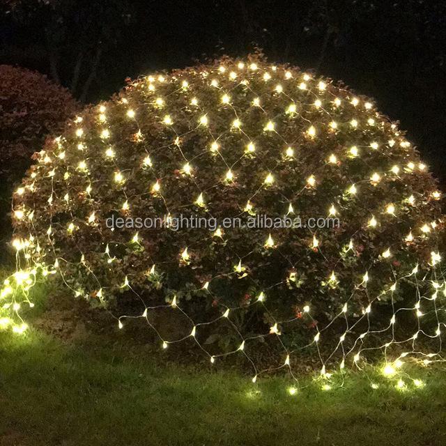 Net Christmas Lights For Bushes Led Mesh Fairy String Light Sparkle Effect Nets Lightings Product On