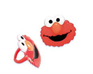Buy Elmo Sesame Street Cupcake Rings 24 Party Favor Cake