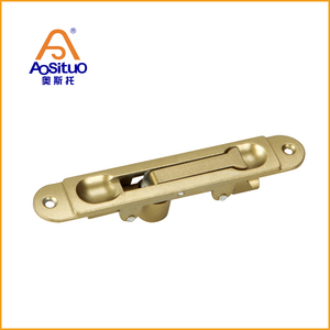 Hot sale safety zinc alloy door window hardware lock flush bolt