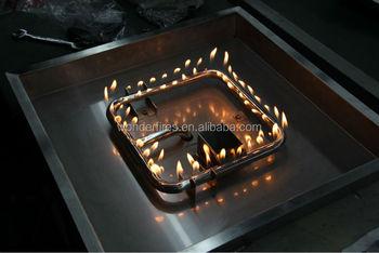 Gas Firepit Pan System Burner Ring Table Kit Natural 3 Triple