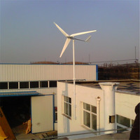 Roof-mounted horizontal axis wind turbine price 1kw domestic small wind generator