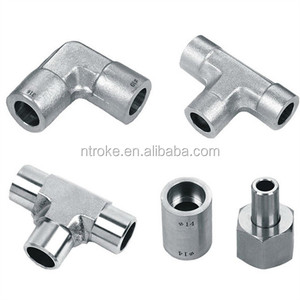 14mm stainless steel 316 welded coupling