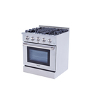 Hyxion Hyxion 30 inch industrial used gas ovens range for USA standard