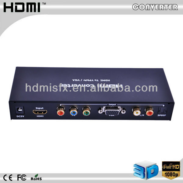 HDMI/DVI to Composite and VGA