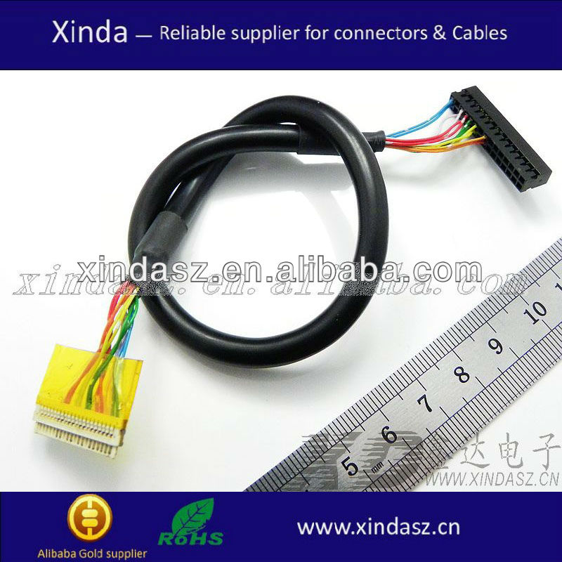 Best Qulaity OEM/ODM lvds acer aspire lcd cable/flex cable for motorola