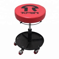 Car Repair Tool 300 Lbs Capacity Pneumatic Rolling Mechanic Garage Stool