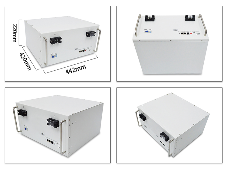 New arrived LiFePO4 Lithium Battery Pack 2u 48V 50ah for Telecom Base Station Energy Storage