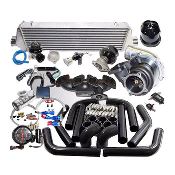 Bán buôn Complete GT35 Turbo Kit cho 87-92 VW Jetta/Golf GLI 16-Van 2.0L 1984CC T3 phổ turbo kit