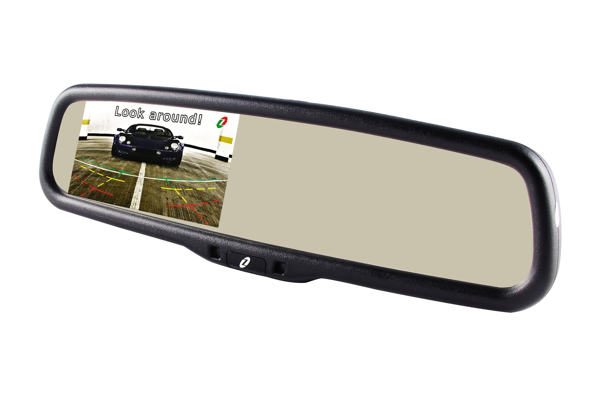"Gazer MM705 4.3"" LCD Nissan, Citroen, Peugeot, Renault, Geely, Mercedes-Benz Original Car Auto Dimming Rearview Mirror / 1000 cd/m2 High Brightness / Integrated OEM Mount / 2 Video Inputs / Brightness Adjustment, Display Turning On-Off"