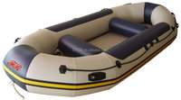 inflatable speed boat, white water raft