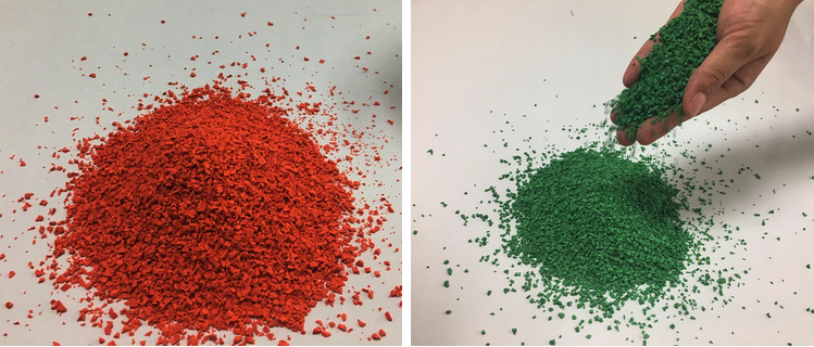 Colored 1-3mm Epdm Granule Rubber