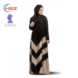 Zakiyyah MDZ008 Arabic new model abaya in dubai black abaya 2017 muslim women dress latest burqa designs