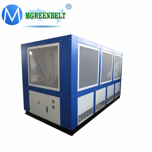 5C~35C Cooling Water Industrial Screw Type Compressor Air Cooled Chiller 50 Ton