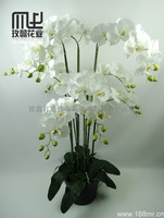 New decorative artificial orchid pot flower/arrangement