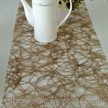 Fancy Chocolate Sizo Web Table Runner For Weddings