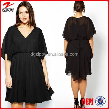 New Arrival Women Plus Size Evening Dress For Fat Women Chiffon ...