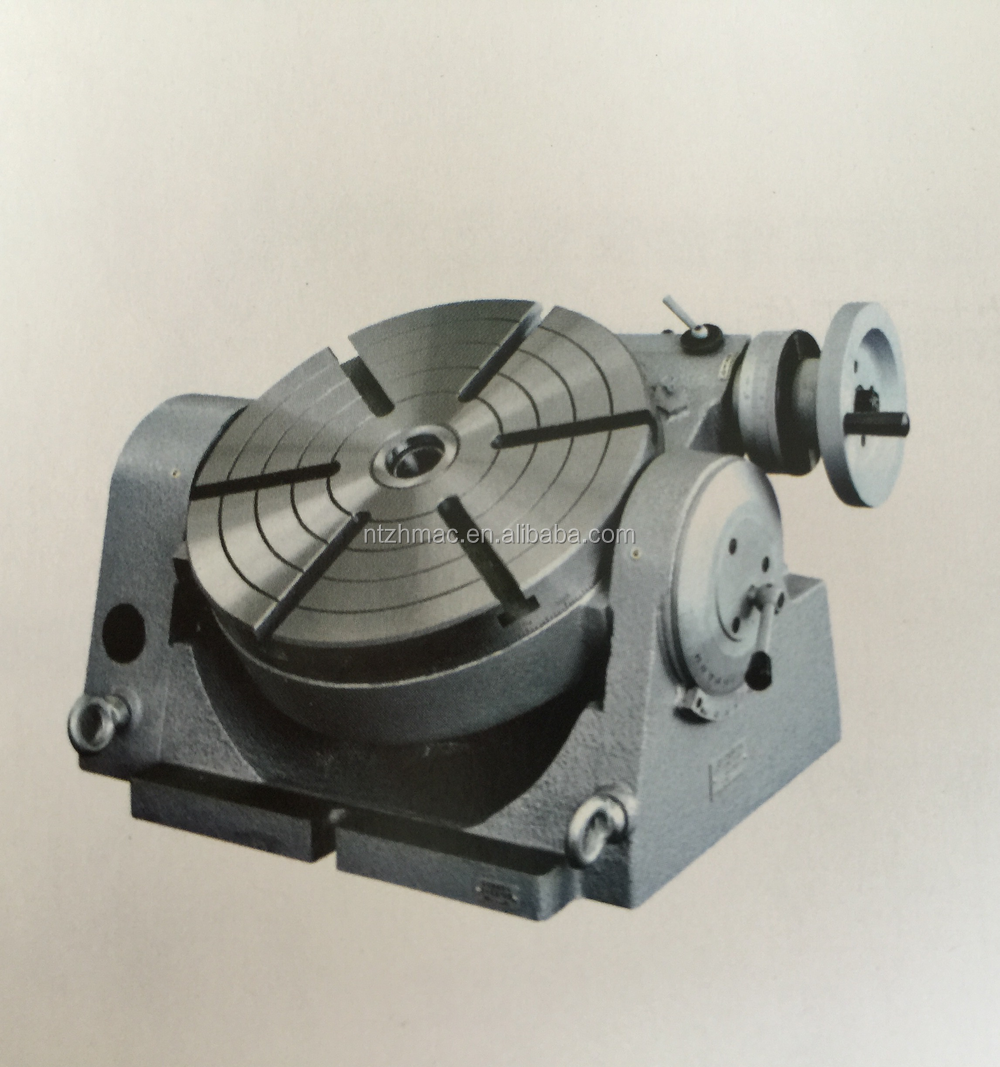 REPAIR Manual Rotary Table TSK of Lathe/Milling/Grinding Machine