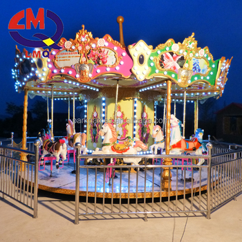 Amusement used carousel flying tiger for sale