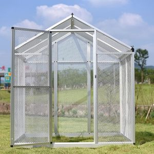 High quality large outdoor aviary aluminium bird animal cage with good design for sale