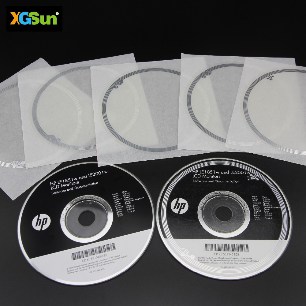 High Quality Best Sale RFID CD Labels paper